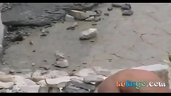 gay pickup beach the on Anna bell peaks rough sex