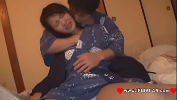 cute rei2 japanese Amateur couple on the stairs