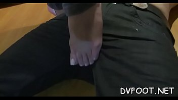 a friend my feet licking Amateur girlfriend blowjob and fucks with cumshot