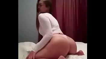 girls twerking 2 Wife handjob to husband standing position