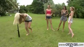trixxx belle dragginladies at Sisters watch brother masturbating