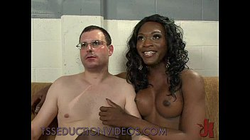 and a white lucky black guy sweet pussy7 Abbie cat sucks cock and gets a cum facial