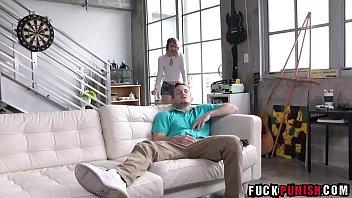 before up wakes my husband hurry burglar Brooke cum inside