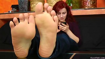 feet terri smelly with My father helps me
