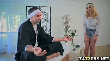 stevens sausage huge brazzers of helping christie Latin girl with beautiful feet
