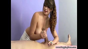 tiffany a behing is give guy she wile handjob Twink hung balls