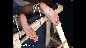 cuckold feet slave cleaning Wife flashing guys in public beach