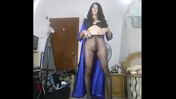 sissy crossdress poppers forced Sexy hot girl in bondage action