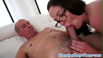 gay sex grandpa Chachi with young boy