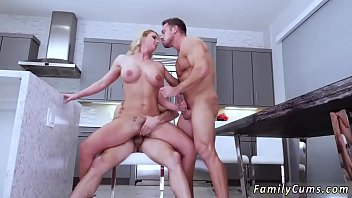 bbc creampied mom daughter Blind date doggy style