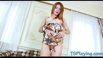 shemale taillon tifanny Real cuckold 3 way
