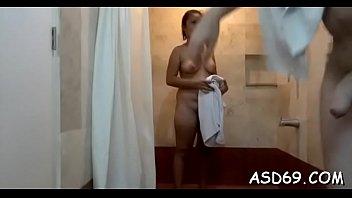 ultraman sasaki in She rubs his cock between her ass cheeks
