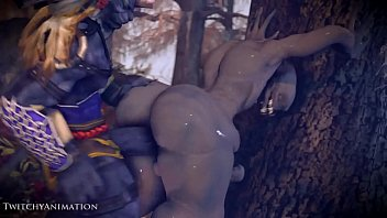 3d monster lara Wife watching in chastity2