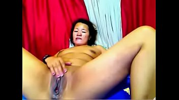 asian thick lesbian with dildo Girl masturbates watching man