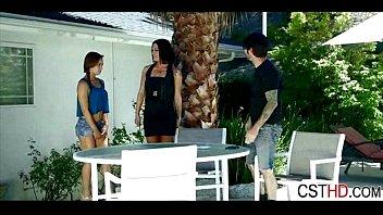 milf video couple invite real strangers on beach voyeur Girls massage nuru styling