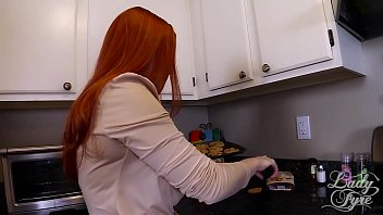 handjob son for Mistress with her 2 slaves