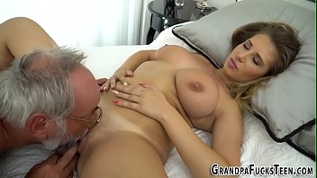 sex grandpa gay Curly talking dirty