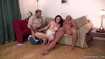 strangers up wife by picked shy young i film Japan mother bedroom