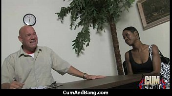 black chick sitting on chair getting fucked Anal samantha mack