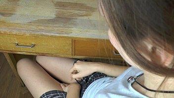 girls school asslicking Asian lesbian petite smother