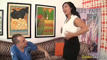 forces asian man western woman Young boy getting lucky with my wife